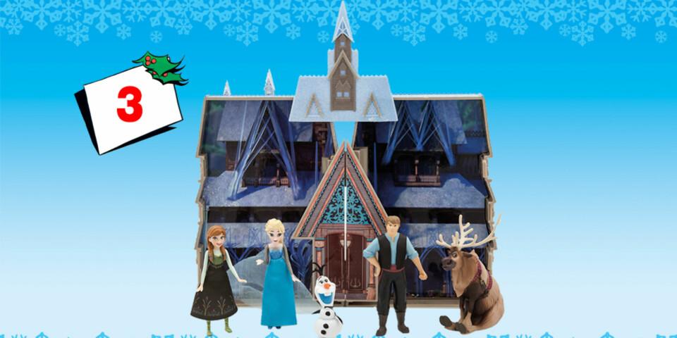 I dag kAND du vinne Frost-slott med fem figurer!