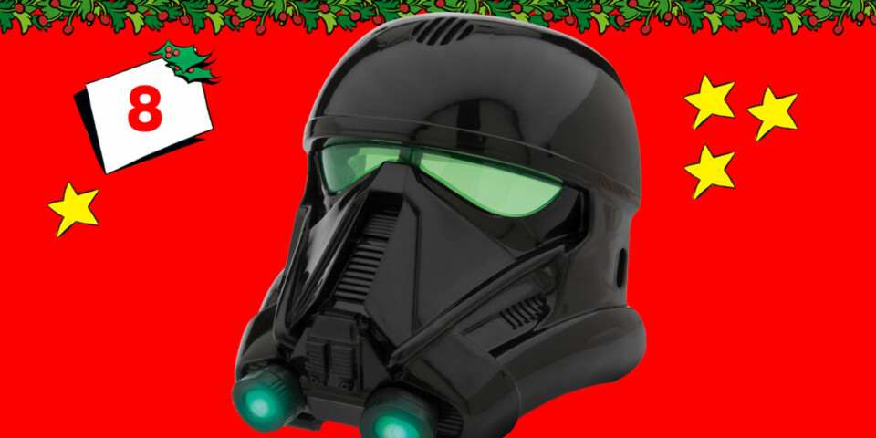 Death Trooper stemmeforvrengermaske