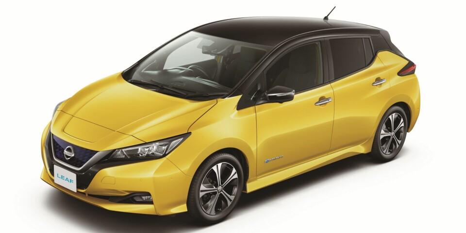 NY PRIS: Nye Nissan Leaf er ventet til Norge tidlig neste år.