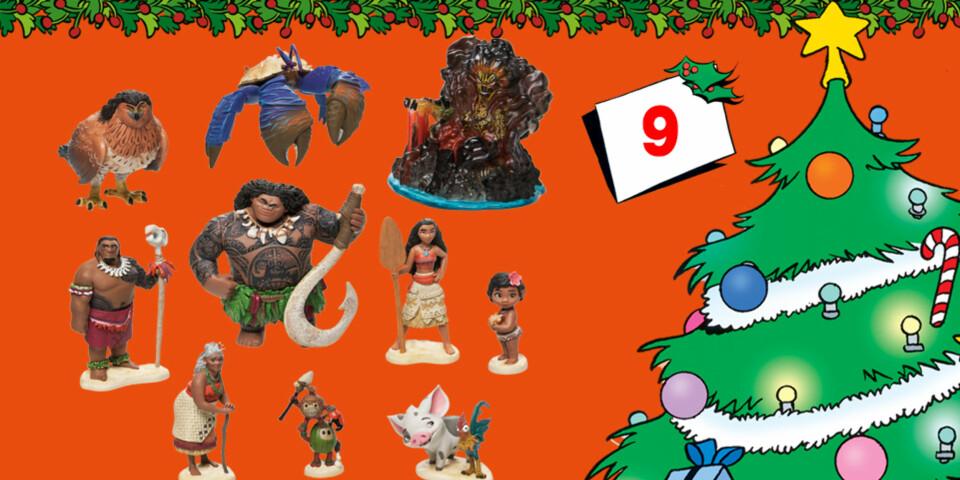 Vaiana-figurlekesett, med alle figurene fra filmen!