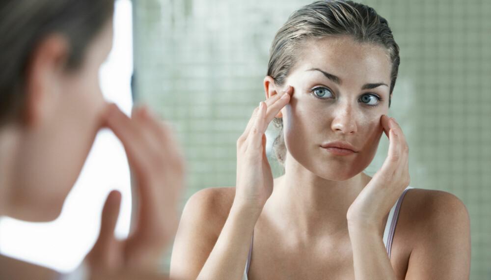 FUKTIGHETSKREM: Riktig fuktighetskrem kan være med på å motvirke oljete eller tørr hud, samt påvirke blant annet hudens fuktighetsnivå. Foto: Gettyimages.com.