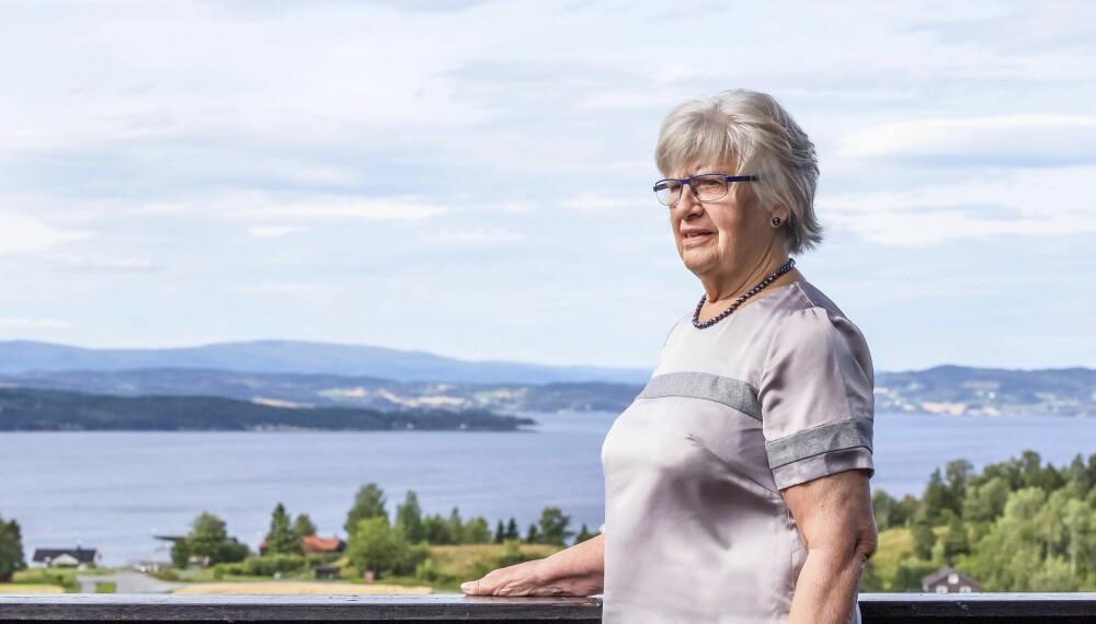 VENTET PÅ PAPPA: Lajla ble født julaften 1938. Faren var sjømann, og det tok syv år før hun møtte ham. FOTO: Siri Rolness.