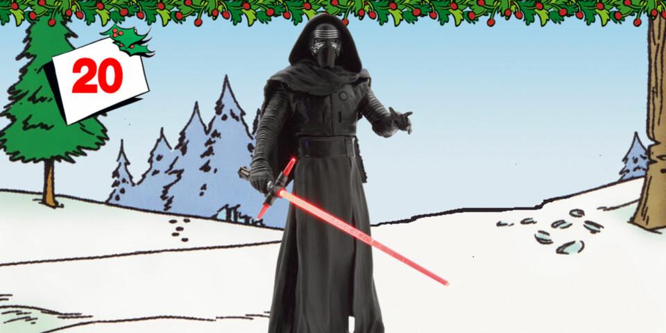 Vinn Kylo Ren snakkende Star Wars-figur!