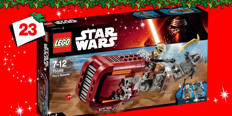 Du kAND vinne Star Wars Lego!