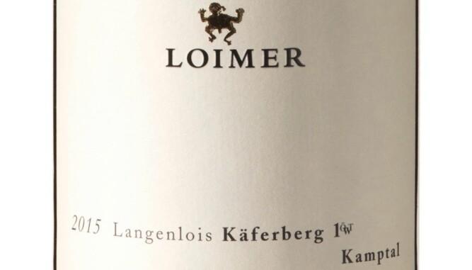 GODT KJØP: Loimer Käferberg Grüner Veltliner 2015. Foto: Vinmonopolet