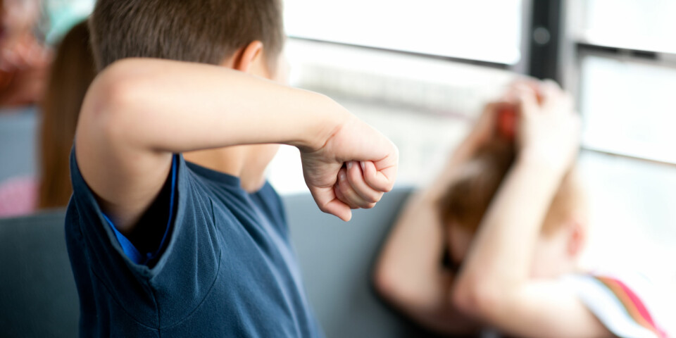 MOBBING I SKOLEN: Mobbing kan dreie seg om alt fra fysiske slag til utestengning og utfrysing. Foto: Gettyimages.com.