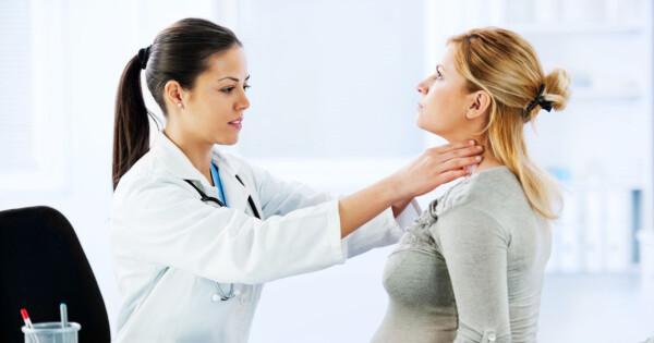 halsbrann gravid