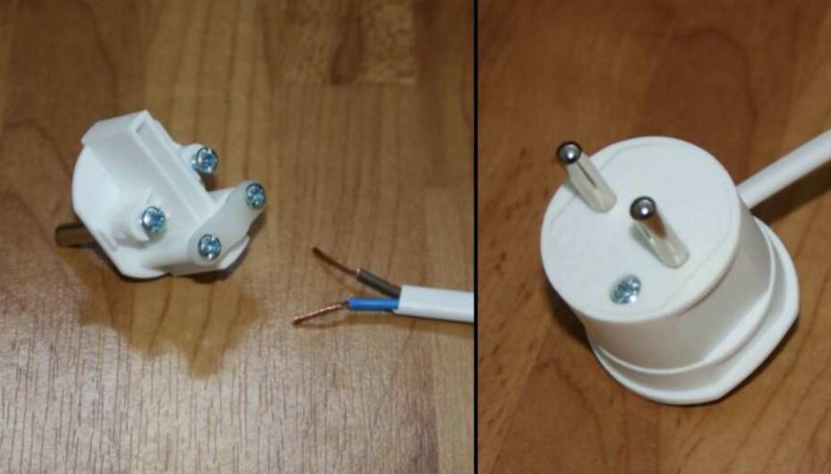 ELEKTRIKERARBEIDET DU KAN GJØRE SELV: En ufaglært person har lov til å sette sammen støpsler og ledninger med brytere og koble dette til lamper ol.