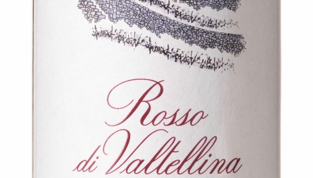 GODT KJØP: Nino Negri Rosso di Valtellina 2016. Foto: Vinmonopolet