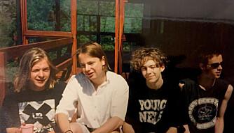 GUTTA BOYS: Forrige hyttetur var i 1996.