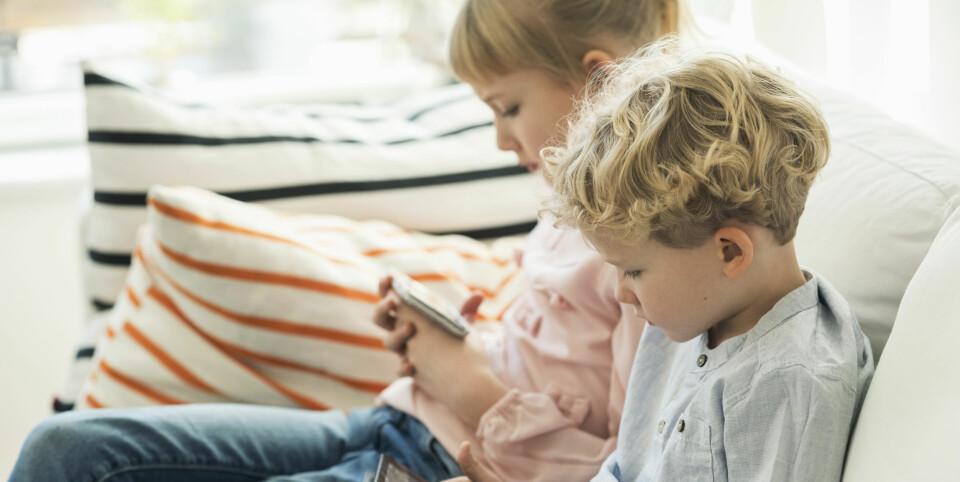 FÅ BARNA TIL Å LOGGE AV INTERNETT: Det å logge av kan være vanskelig, men når det gjelder barn er det vi voksne som må ta ansvaret.