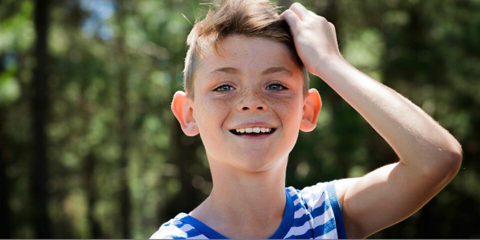 10-ÅRINGEN: Flere og flere trer inn i puberteten og dette påvirker både kropp, tanker og følelser. Foto: Gettyimages.com.