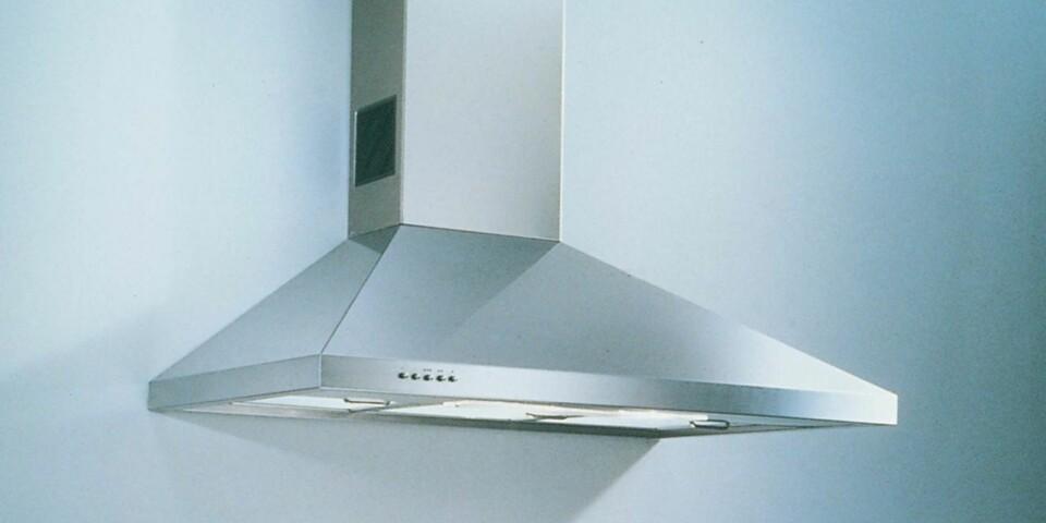 KJØKKENVIFTE: Velge kjøkkenvifte med eller uten kullfilter? Her får du oversikten. Foto: IFI.no