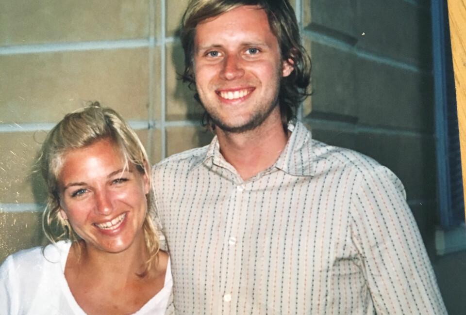 DET FØRSTE MØTET: Guri møtte mannen David på Vossa Jazz for femten år siden.