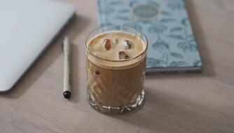 Kald og god: Iskaffe er perfekt nå i varmere vær.