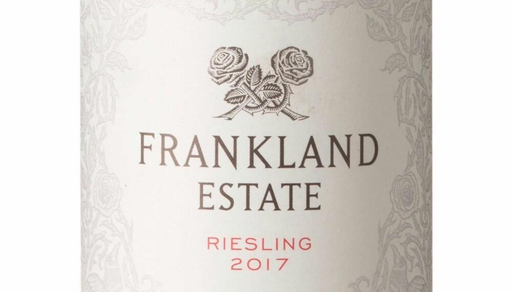 GODT KJØP: Frankland Estate Riesling 2017