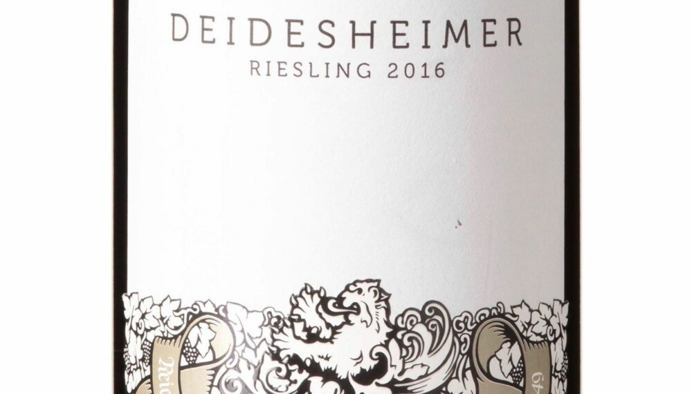 GODT KJØP: Reichsrat von Buhl Deidesheimer Riesling Trocken 2016.