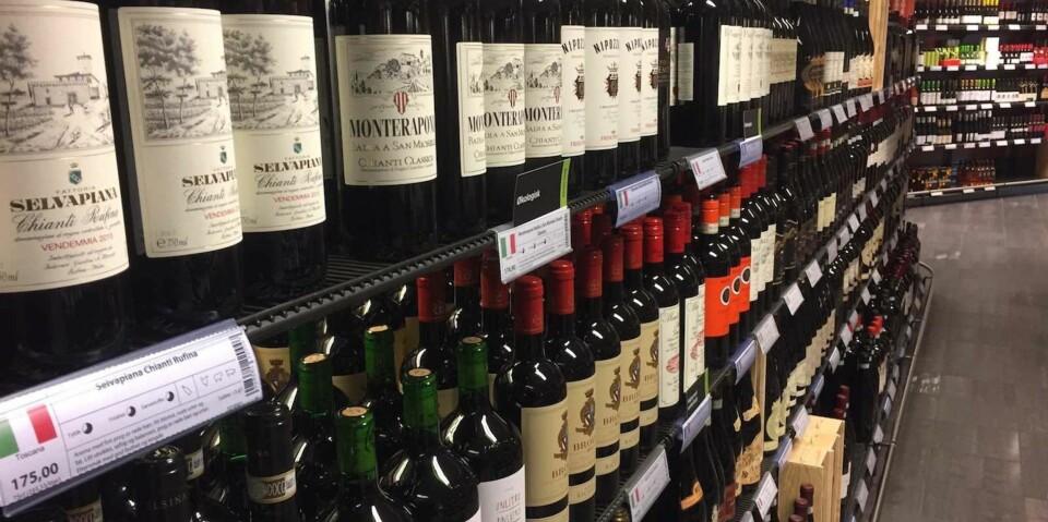 POLSLIPP: Lyse, lette viner dominerer slippet nå i mai.