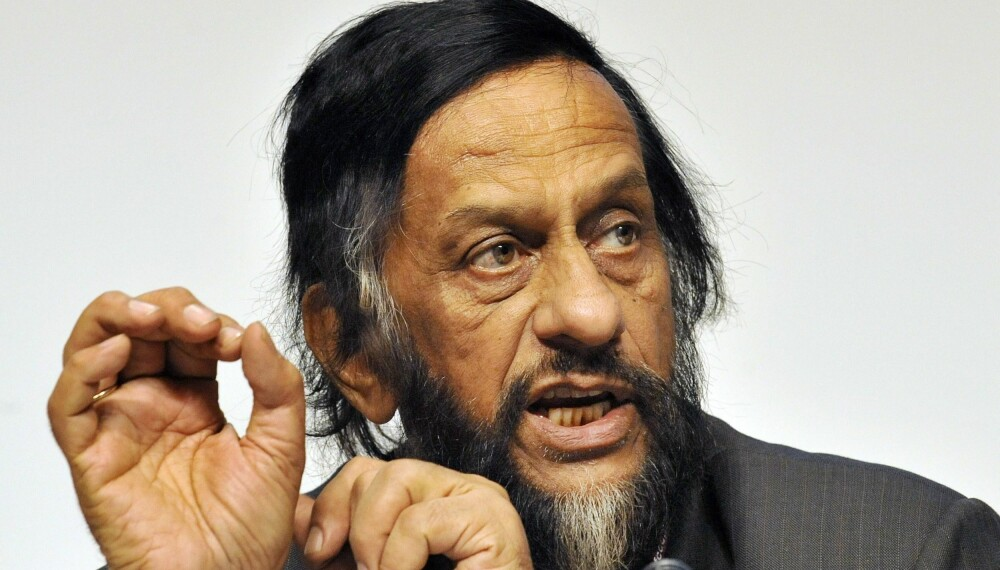Tidligere IPCC-sjef Rajendra Pachauri.