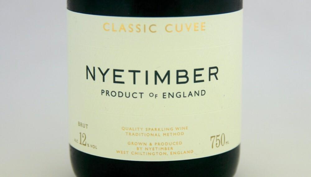 GODT KJØP: Nyetimber Classic Cuvee. Foto: Arnie Stalheim