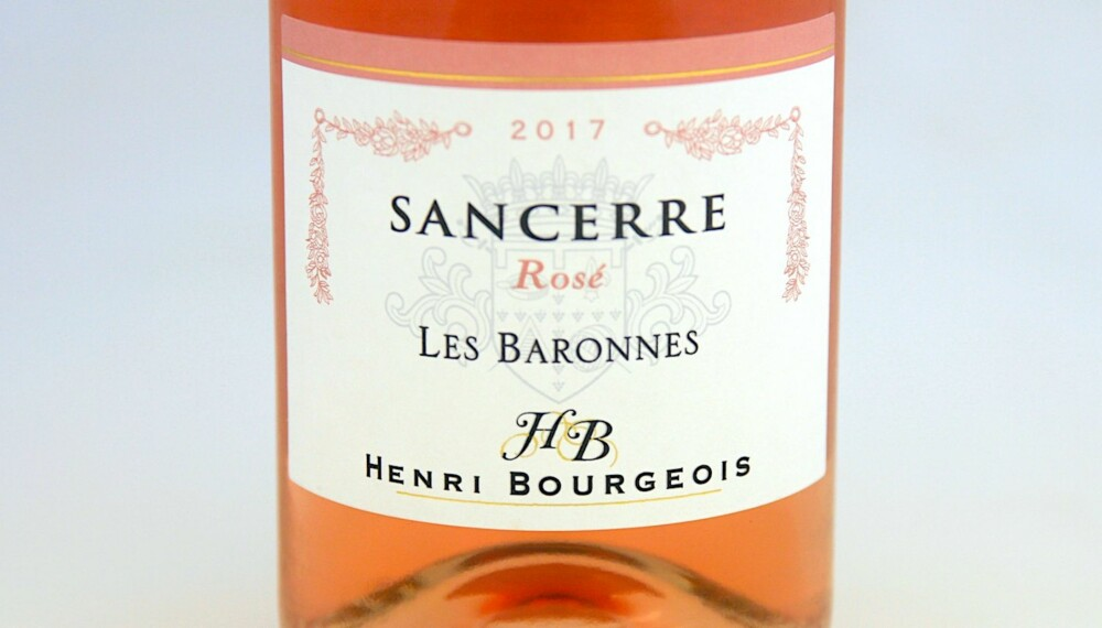 GODT KJØP: Henri Bourgeois Sancerre Les Baronnes Rosé 2017. Foto: Arnie Stalheim