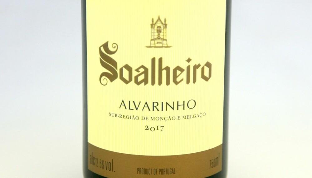 GODT KJØP: Soalheiro Vinho Verde Alvarinho 2017. Foto: Arnie Stalheim