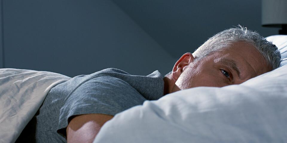 RESTLESS LEGS SYNDROME: Urolige ben oppstår gjerne om kvelden eller om natten, og kan være en betydelig årsak til søvnproblemer. Foto: Getty Images
