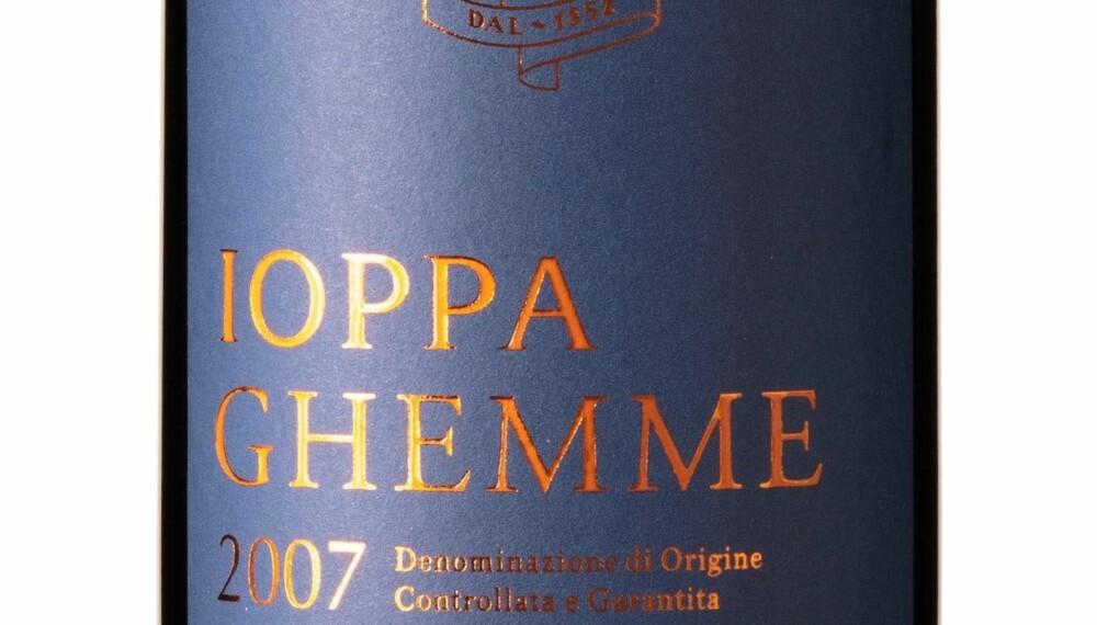 GODT KJØP: Ioppa Ghemme 2007.