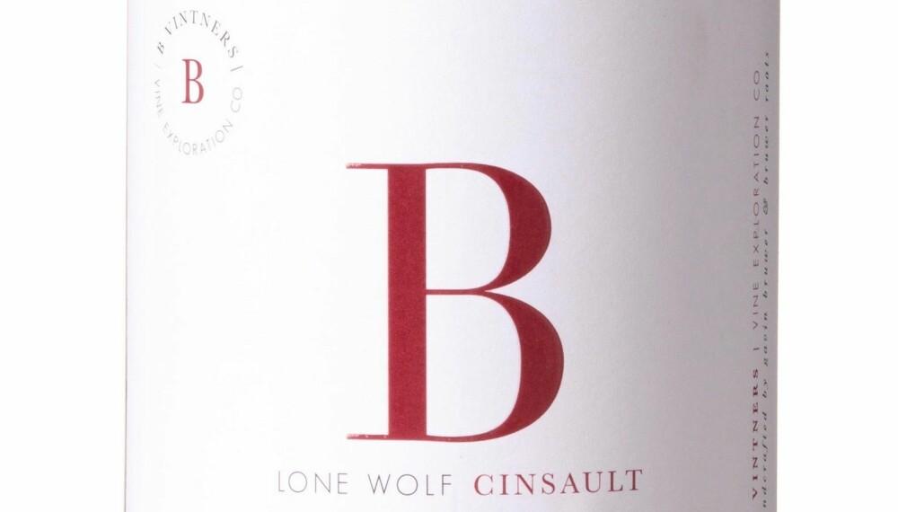 GODT KJØP: B Vintners Lone Wolf Cinsault 2017.
