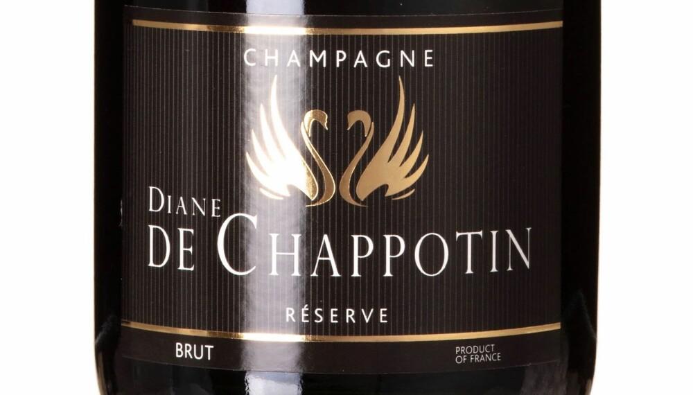 GODT KJØP: Diane De Chappotin Réserve Brut.