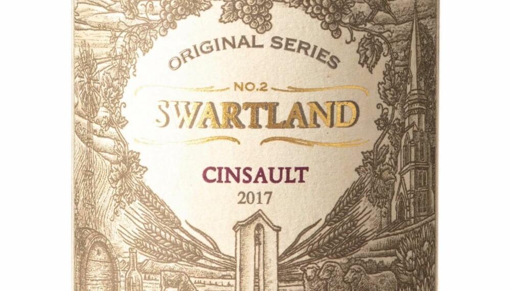 GODT KJØP: Original Series Swartland Cinsault 2017.