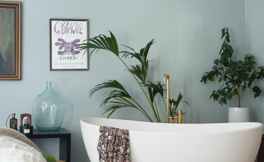 Med badekar på soverommet ligger alt til rette for en skikkelig time-out.