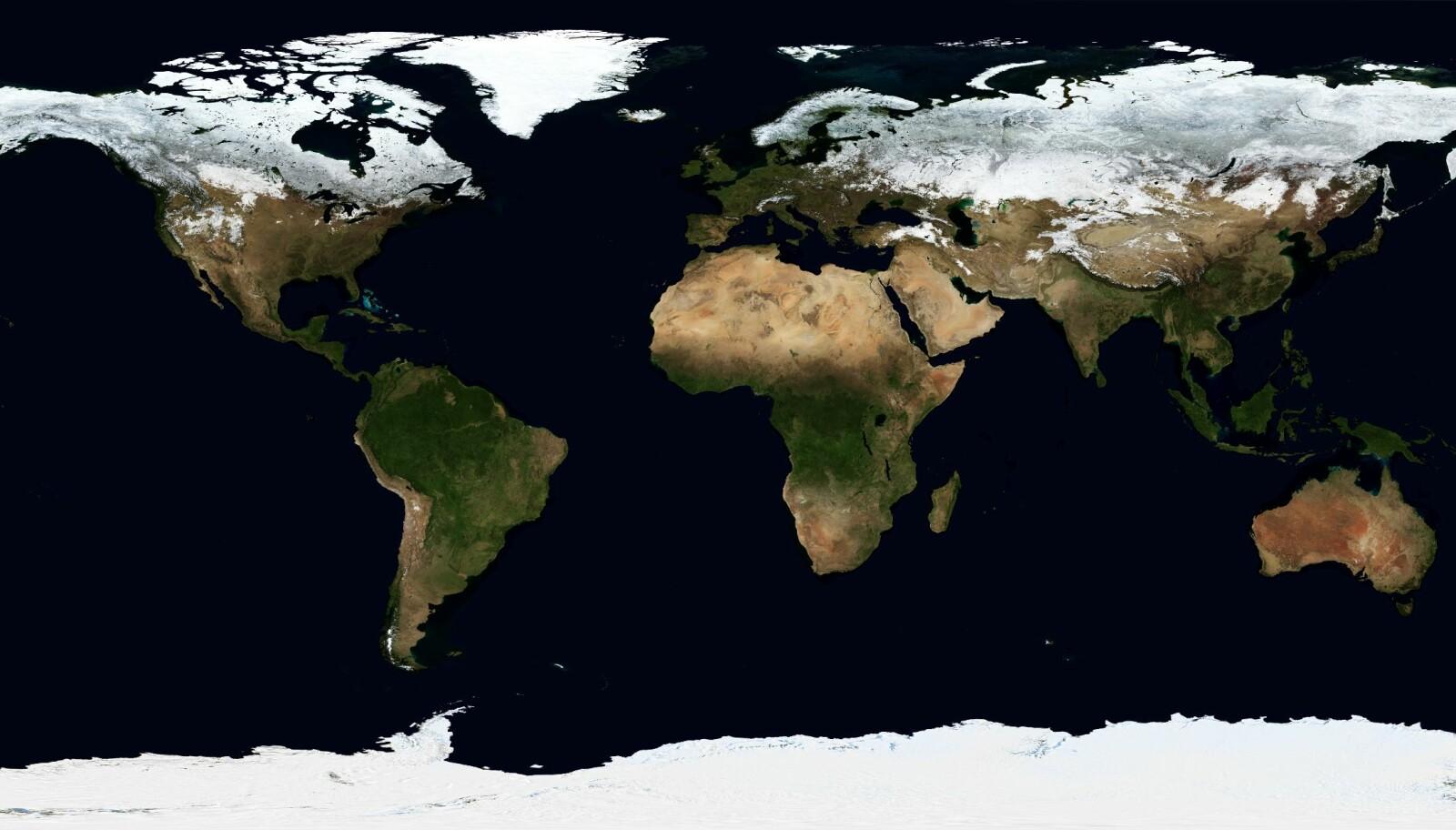 Hvor mange lande er der i verden
