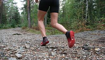 TØFF LØPING: Løping i terrenget krever mer av de store myuklsene