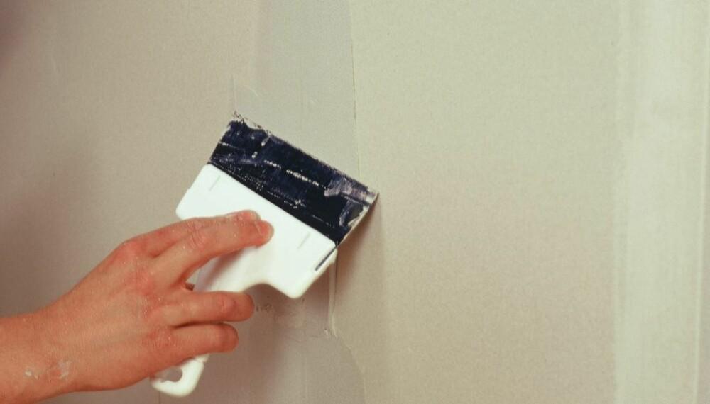 DE VANLIGSTE MALETABBENE; En vanlig feil mange gjør når de skal male, er at de sparkler for lite før selve malejobben starter
