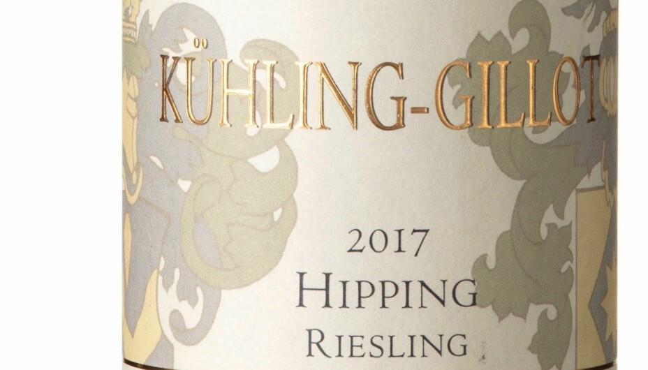 GODT KJØP: Kühling-Gillot Hipping Riesling Trocken GG 2017.