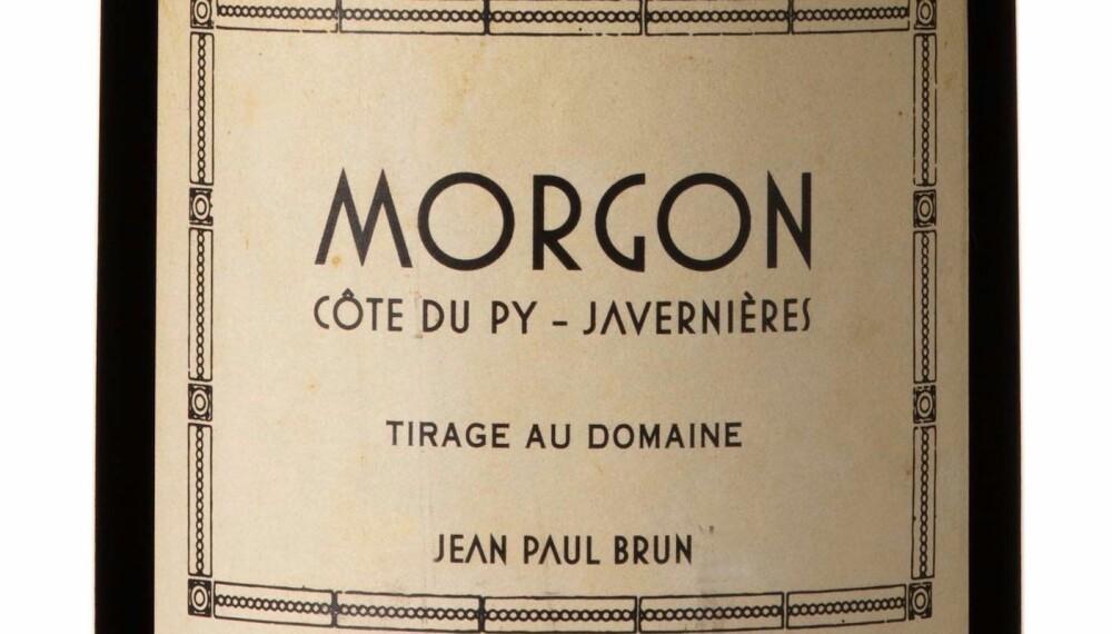GODT KJØP: Brun Morgon Côte du Puy Javernières 2016.