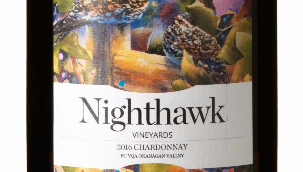 GODT KJØP: Nighthawk Chardonnay 2016.