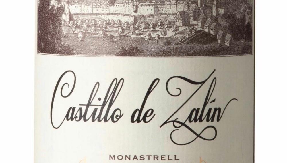 GODT KJØP: Castillo de Zalin Monastrell 2017.