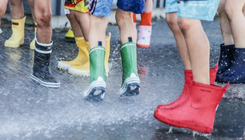 b24fdc2d3 Test av gummistøvler til barn - Tester og barneutstyr