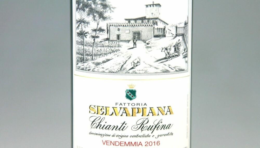 GODT KJØP: Selvapiana Chianti Rufina 2016.