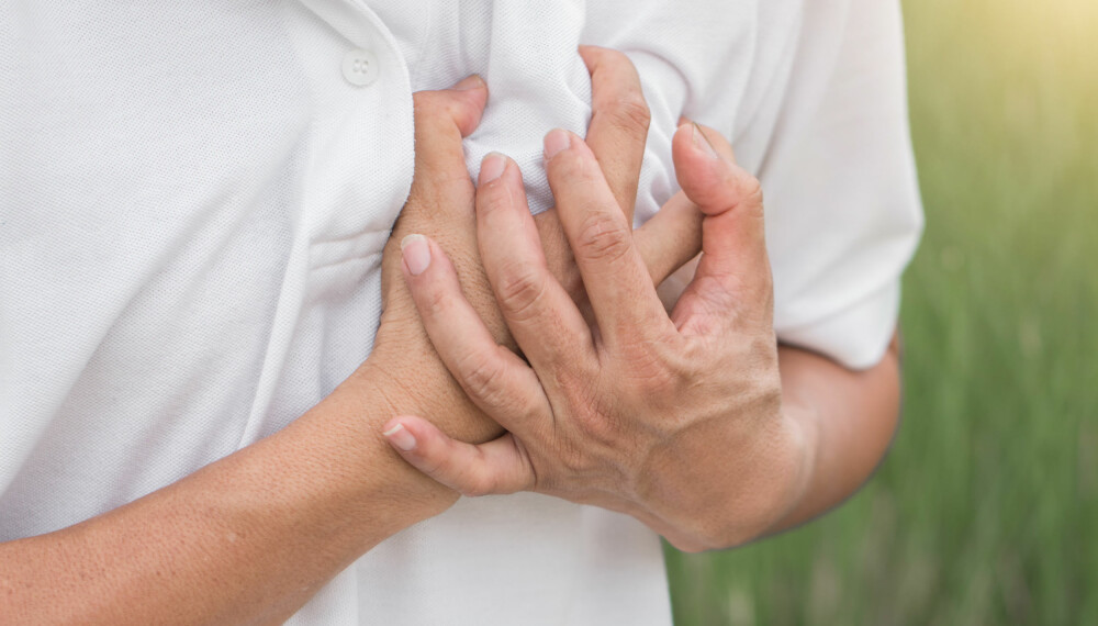 HJERTEFLIMMER: For lite aktivitet eller for hard trening kan øke risikoen for hjerteflimmer.