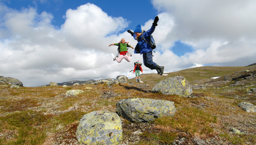 TROLL TIL FJELLS: I Trollheimen i   Trøndelag ligger Barnas naturverden   – her er det moro å være på tur