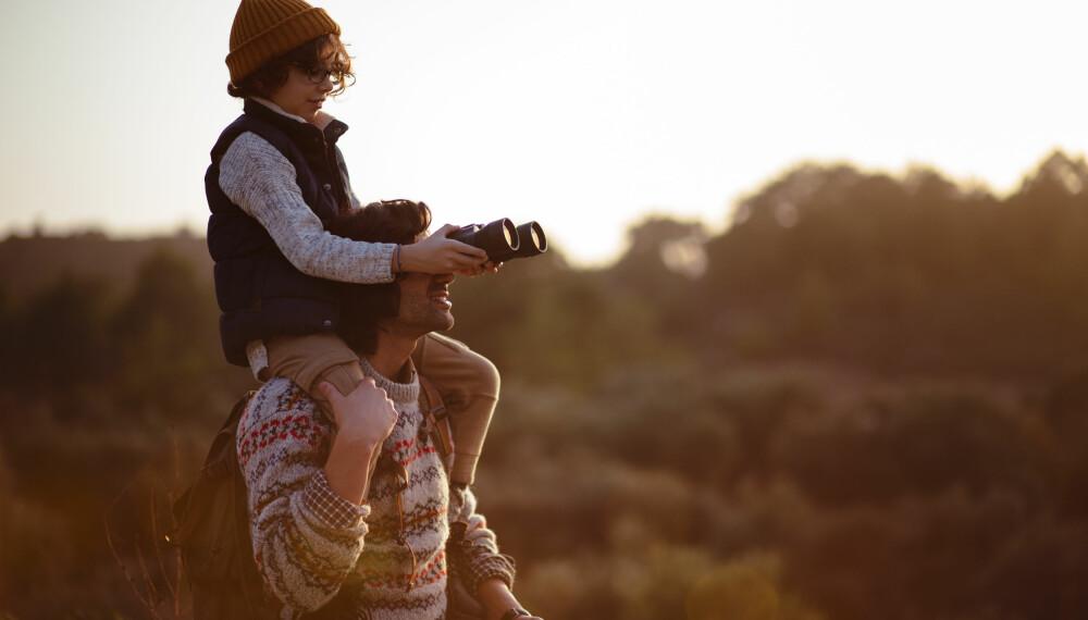 TELTTUR MED BARN OG BABY: Skal du ut på tur med barn, er telttur en koselig og enkel familieaktivitet