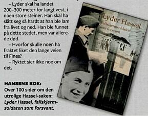 Asbjørn Hansen ga ut bok om Lyder Hansen.