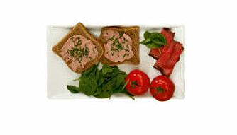 B-VITAMIN I LEVERPOSTEI: Leverpostei er en god kilde til B-vitamin.