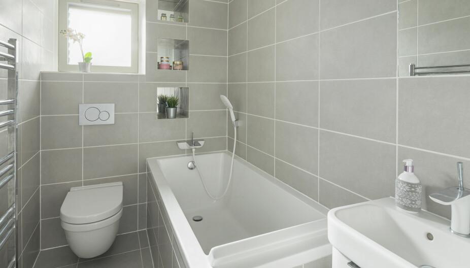 PRIS OPPUSSING AV BAD: Du trenger ikke et kjempestort budsjett eller mye plass for å få til et flott og funksjonelt baderom. God planlegging er alt som skal til.