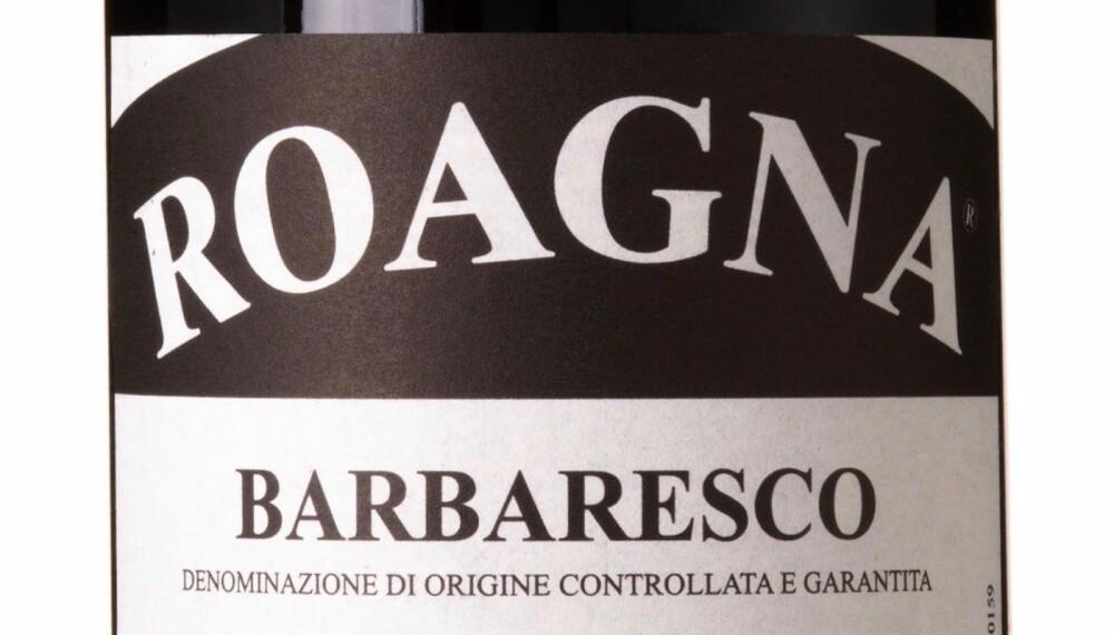 GODT KJØP: Roagna Barbaresco 2013.