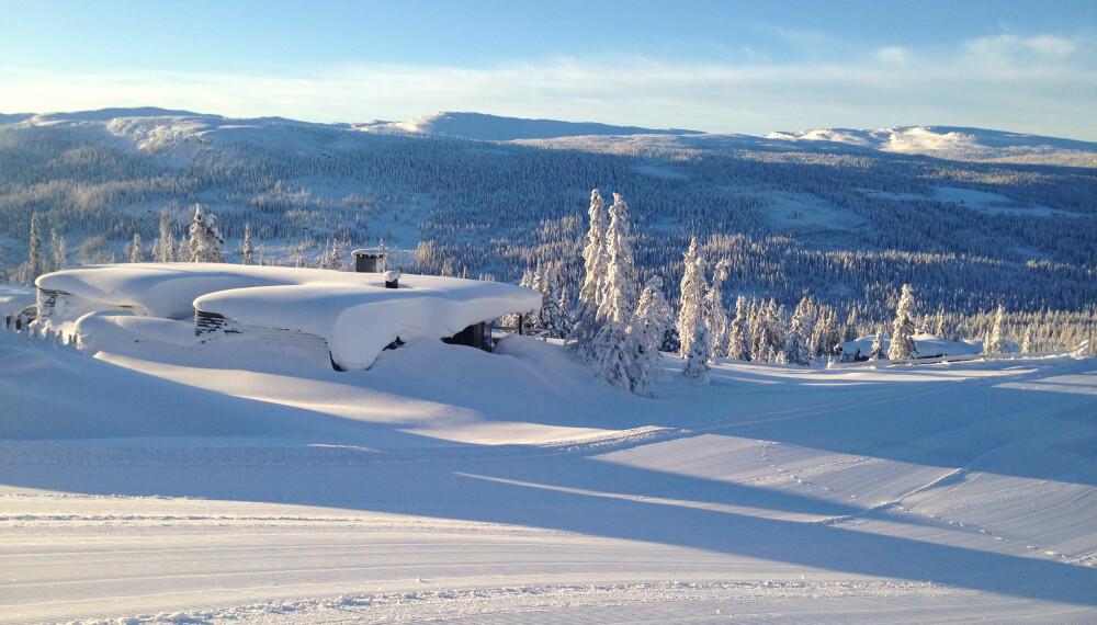 ULIKE TAKSTER: Kvitfjell er ett av de områdene der Norges Hytteforbund mener at det er høyere skattetakster for hytter enn for privatboliger. De har sendt klage til Ringebu kommune på vegne av 108 hytteeiere
