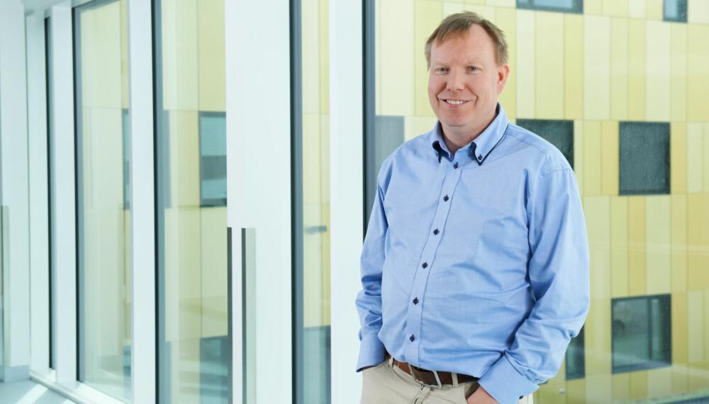 SJEKK DEG! Kreftlege Andreas Stensvold oppfordrer alle menn til å sjekke seg for prostatakreft.